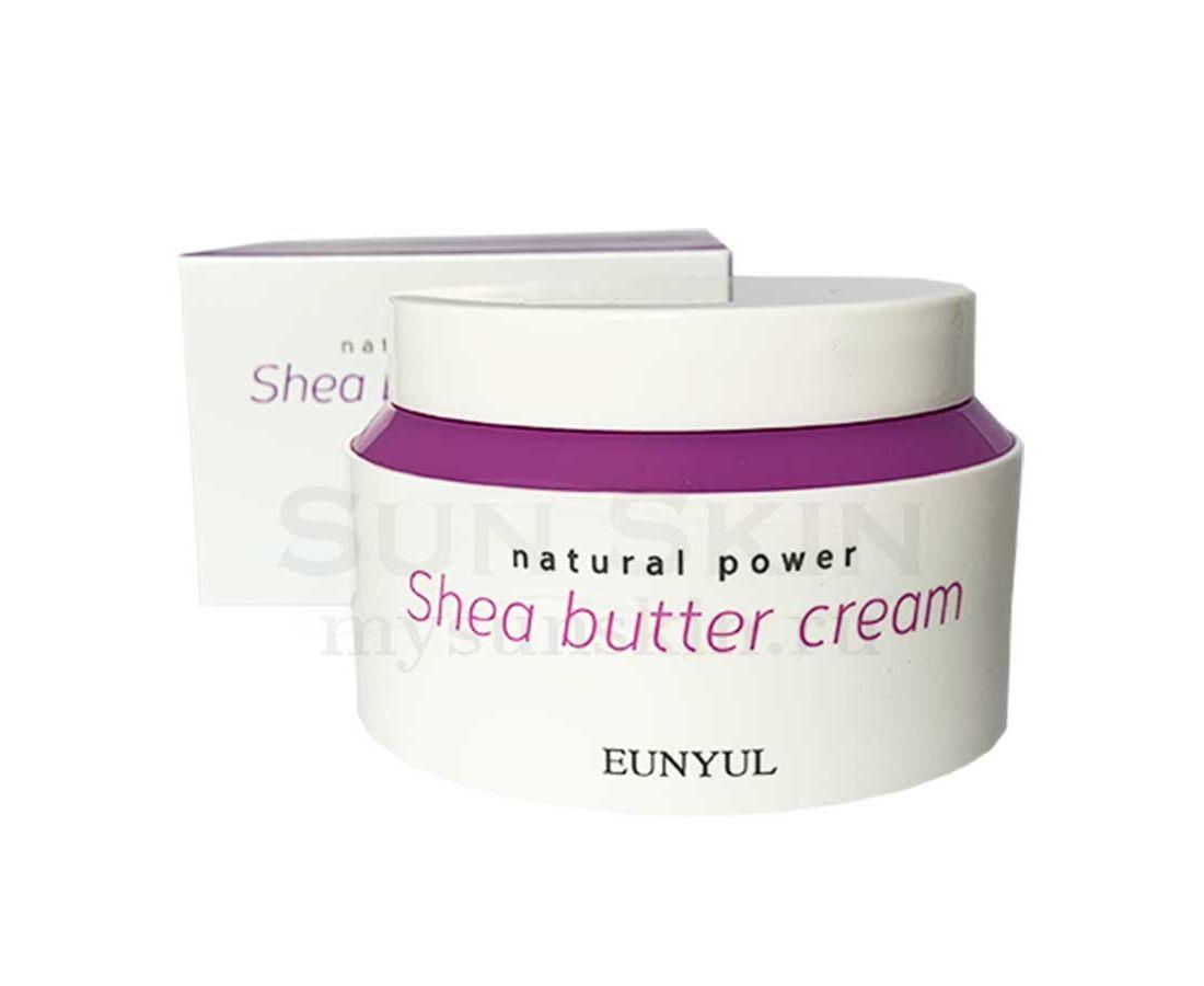 "Питательный крем с маслом ши ""Natural Power"" Eunyul Natural Power Shea Butter Cream"
