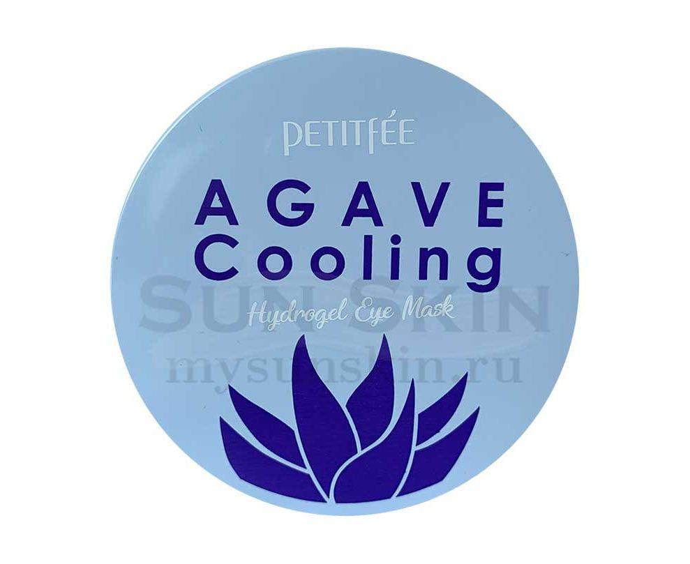 Гидрогелевые патчи для глаз с охлаждающим эффектом Petitfee Agave Cooling Hydrogel Eye Patch