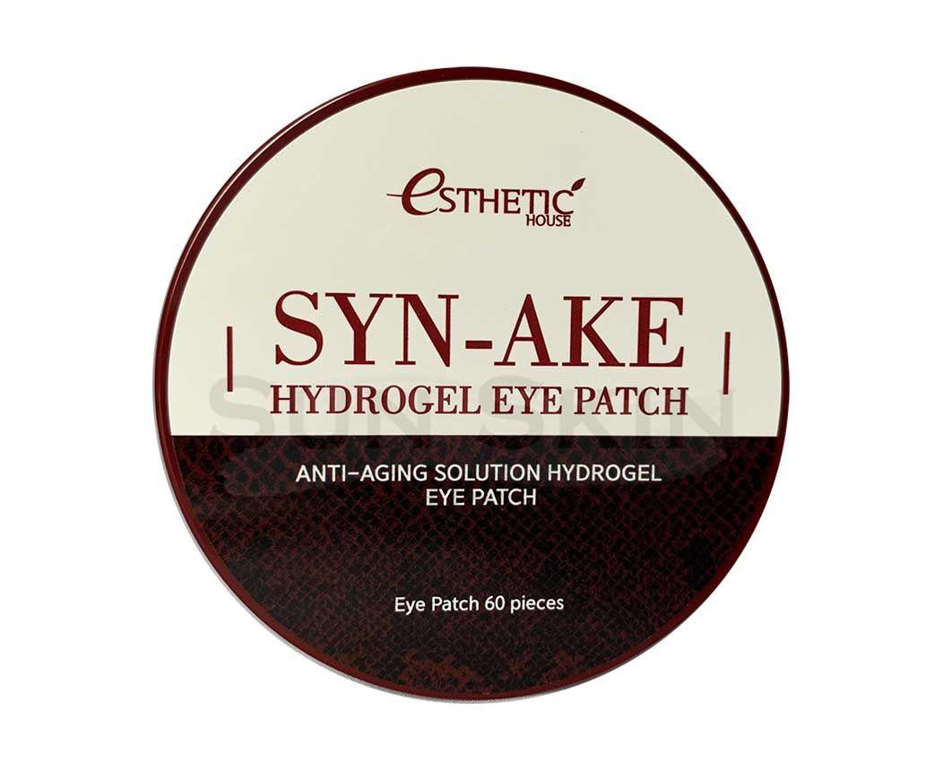 Гидрогелевые патчи для глаз с змеиным пептидом ESTHETIC HOUSE Syn-Ake Hydrogel Eye Patch